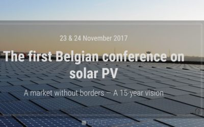 Enerdeall guest speaker at Belgium Solar Network conference in Brussels on Nov 23 & 24
